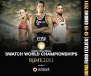 Mondiali di Beach Volley a Roma